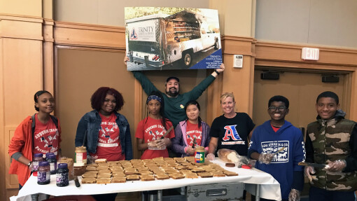 TLF Connects with Students