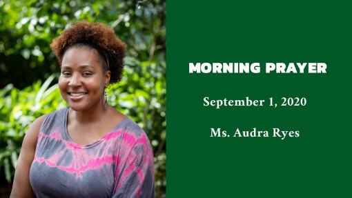 Morning Prayer - September 1, 2020